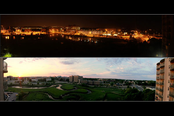 How to create panoramic shots using a normal camera
