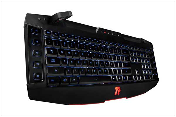 Tt eSports Challenger, Keyboard with Cooler
