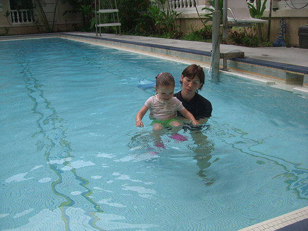 How To Teach Your Toddler To Swim?