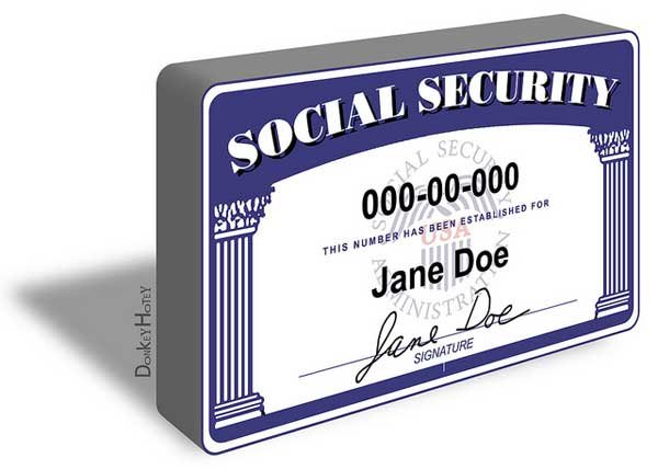 Social Security Number - SSN