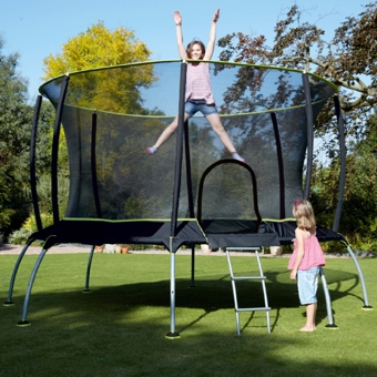 Safety with Trampolines