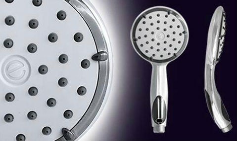 Eco Shower Head Reduces Strain on the Grid